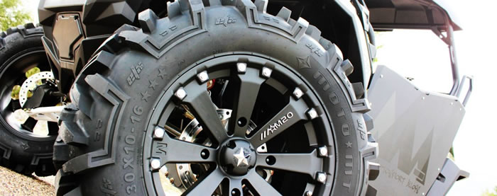 16 inch atv & utv wheels